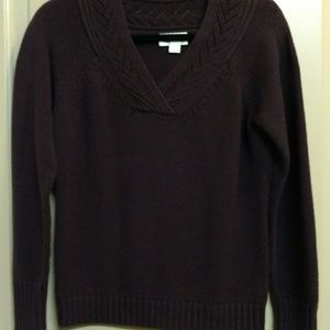 Pullover sweater petite large